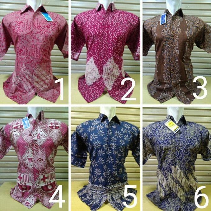 Hem Baju Kemeja Pakaian Batik Pria Obral Ika Fashion Tanah Abang Murah b370cd938f