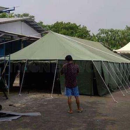 Foto Produk Jual Tenda Pleton Tenda Darurat Posko Bencana 6x14m dari Berkah Media Promosi
