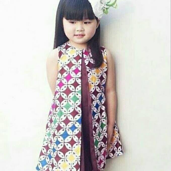 Jual Baju batik anak - kang rezaa  8de4efb589