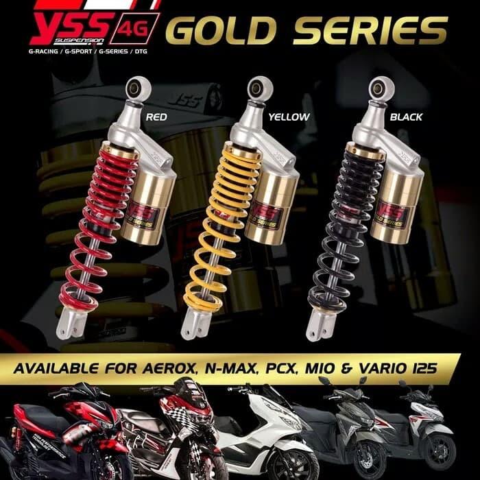 harga Singel shokmck motor matic absorber yss gold Tokopedia.com