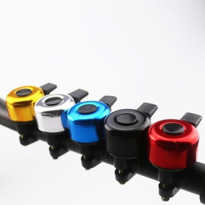 Foto Produk Bel Sepeda Kecil Ringing Bell Classic klakson Sepeda Ring Bicycle Bell - Silver dari lbagstore