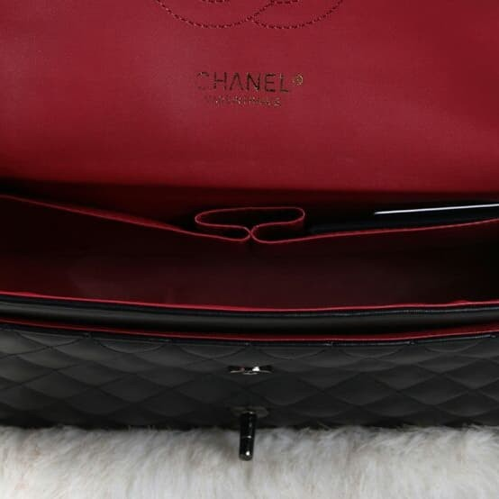 Tas CHANEL Yuni Shara Premium Leather Hardware Black Like Ori 9960 18767b0c06
