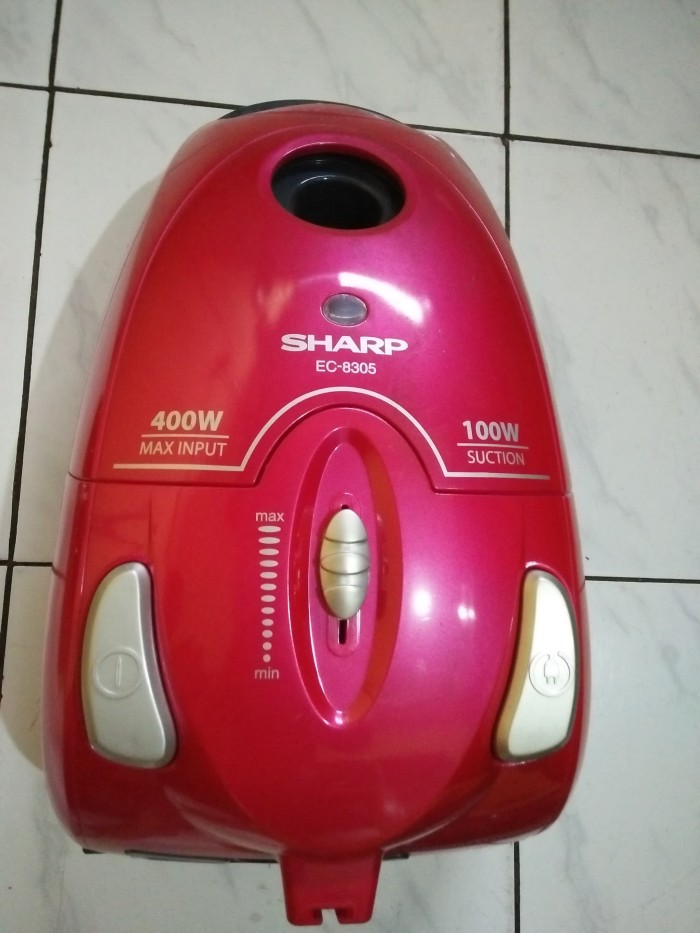 Sharp Vacuum Cleaner Low Wattage EC-8305-P - Pink