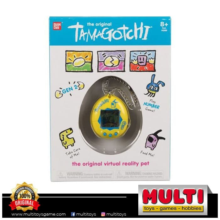 harga Tamagotchi original yellow blue (p2) 42812 Tokopedia.com