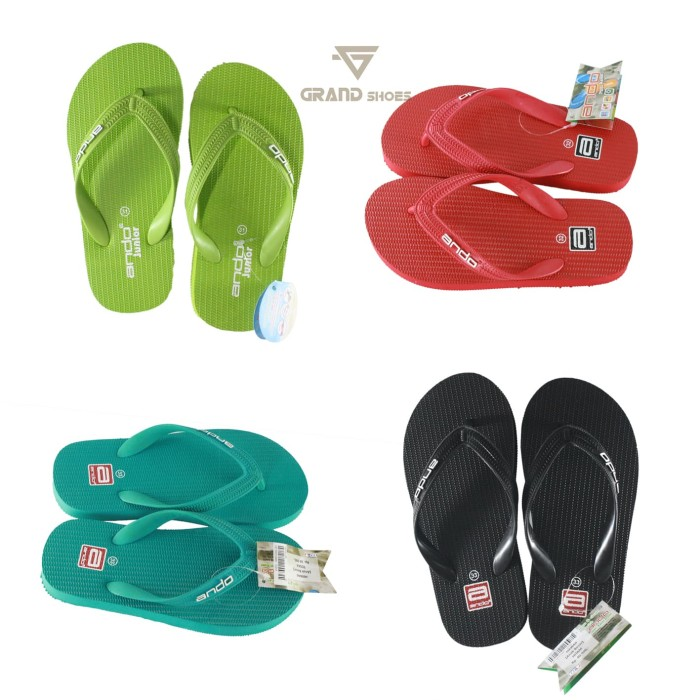 harga Ando hawai sandal jepit anak perempuan merah Tokopedia.com