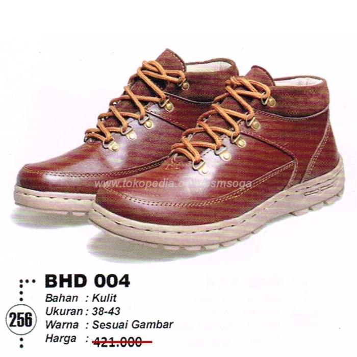 Jual SEPATU CASUAL BOOT PRIA BHD 004 - Cokelat 990e997bdb