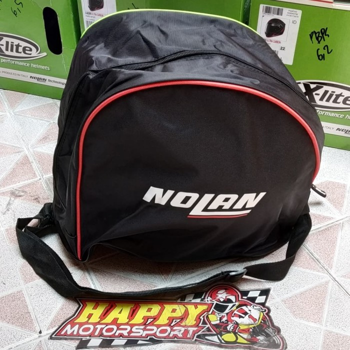 Foto Produk New Arrival!!! Tas khusus helm Merk Nolan/x-Lite Original Italy dari Happy MotorsportKadipiro