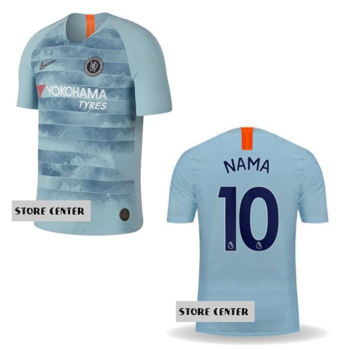 on sale c1ffa 1cf10 Jual Jersey Chelsea Third 3rd 2018/2019 Custom Nama & Nomor - DKI Jakarta -  store center | Tokopedia
