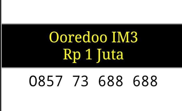 Nomor Cantik Indosat Im3 Seri Double ABC 0857 73 688 688 Unik Hoki
