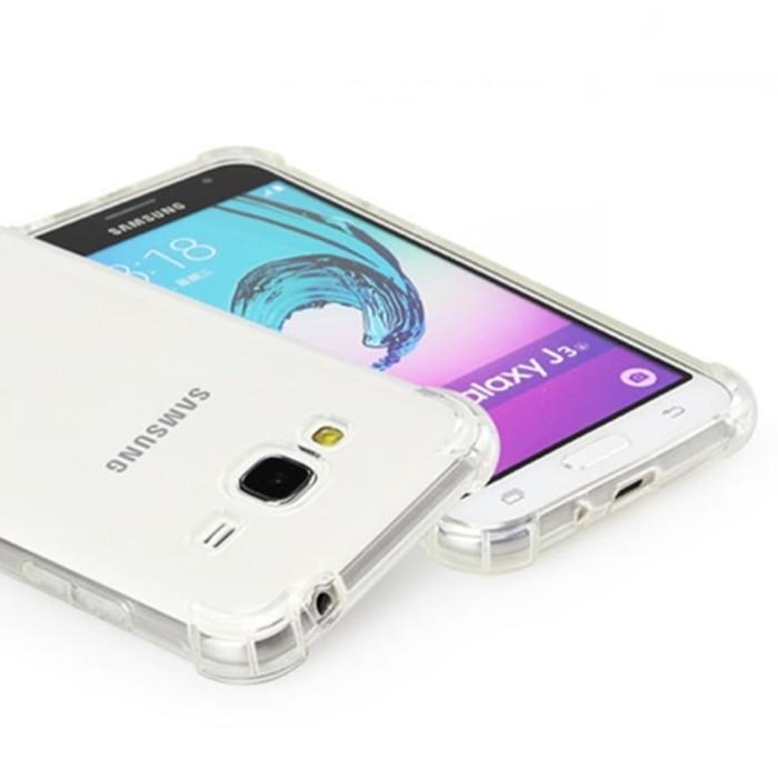 Softcase Anticrack Samsung Galaxy J1 2016 J120 Casing Case Bening