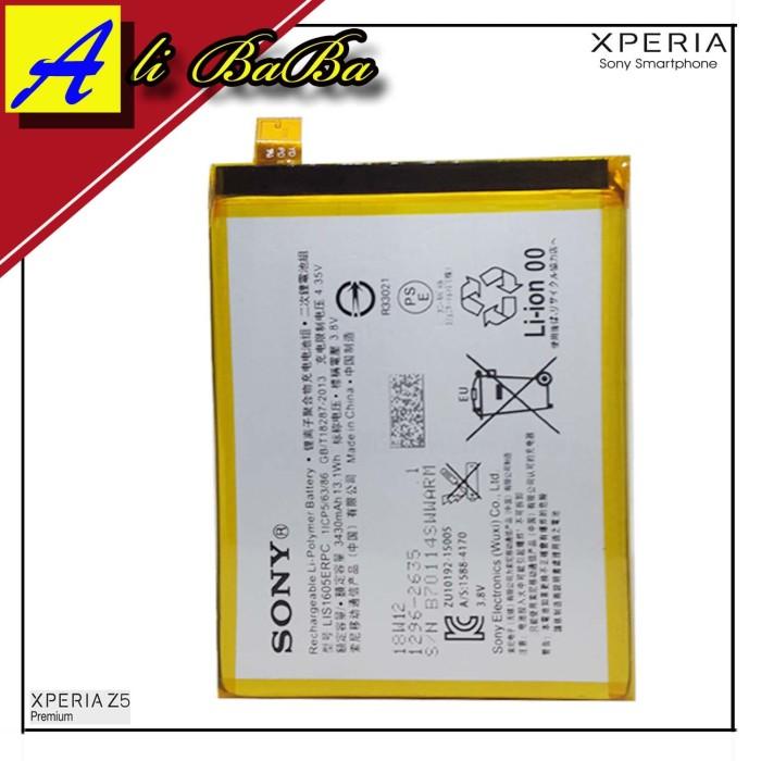 harga Baterai handphone sony xperia z5 premium z5 plus e6853 e6883 lis1605e Tokopedia.com