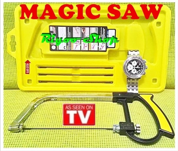 Jual Terbaru Gergaji Ajaib Serbaguna Multifungsi Magic Saw 1 As Seen