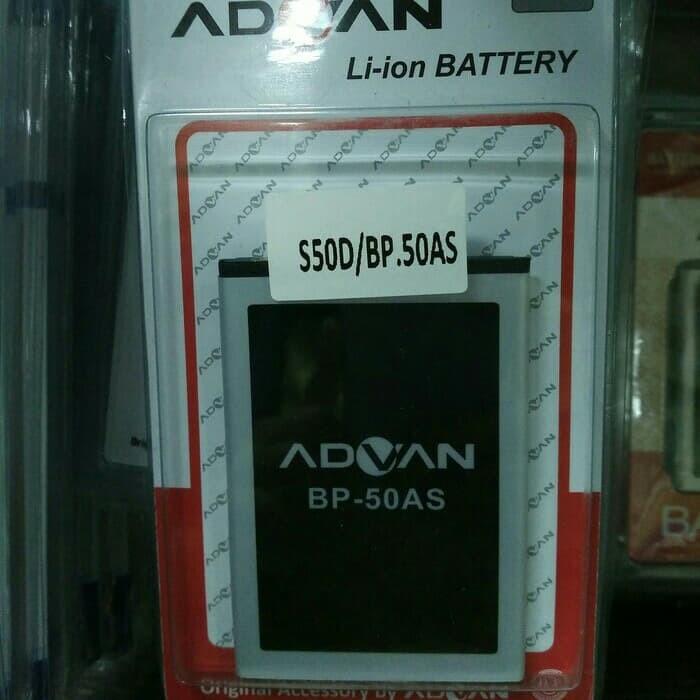 BATERAI BATRE BATTERY ORI 99% ADVAN BP-50AS = S50D / S50AS