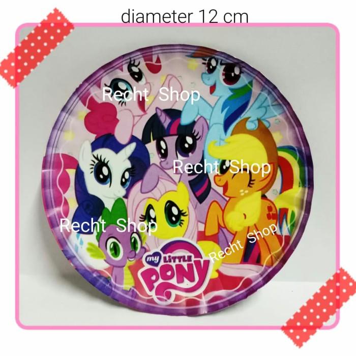 Jual Piring Kertas Ulang Tahun Karakter My Little Pony Kota Bekasi Recht Shop Tokopedia