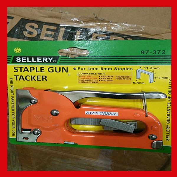 HEKTER TEMBAK STAPLER TEMBAK STAPLE GUN TACKER SELLERY USA