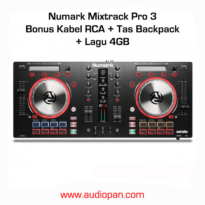 harga Numark mixtrack pro iii / mixtrack pro 3 + bonus Tokopedia.com