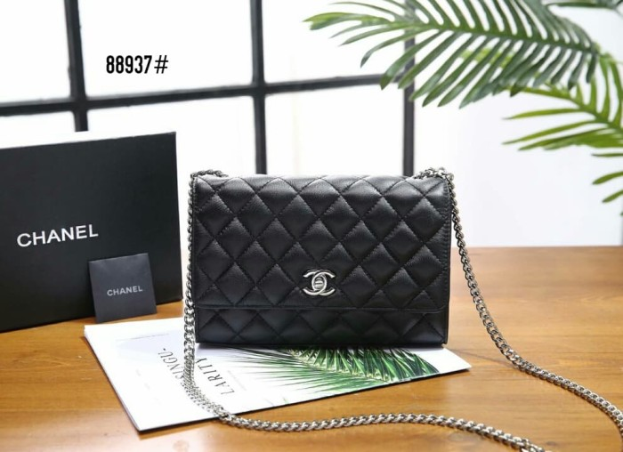7de506a8ab4e Jual Chanel Classic Chain Bag👜 #88937 - Hitam - collectionbyms ...