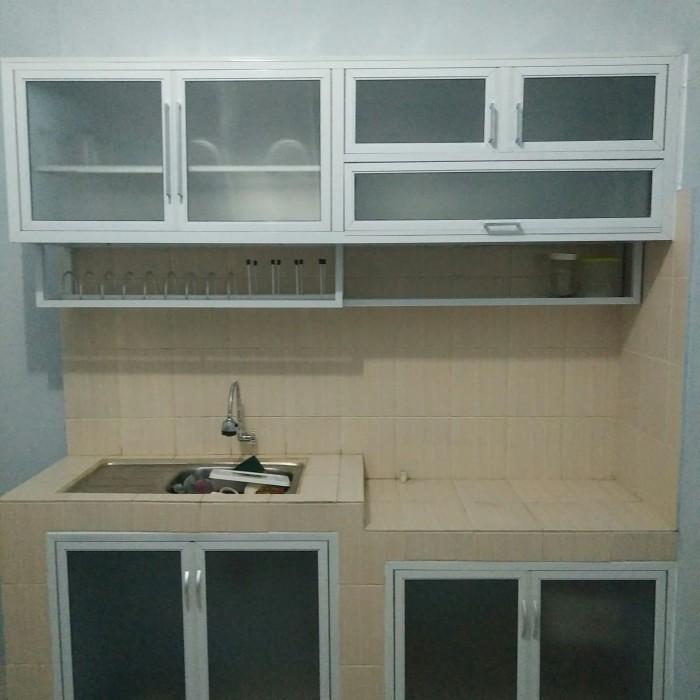 Jual kitchen set aluminium dan kaca - Kota Tangerang ...
