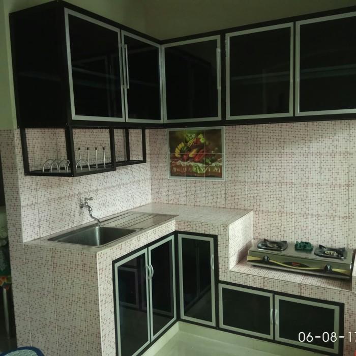 Jual Kitchen Set Aluminium Dan Kaca Kota Tangerang Selatan P99 Alumunium Tokopedia