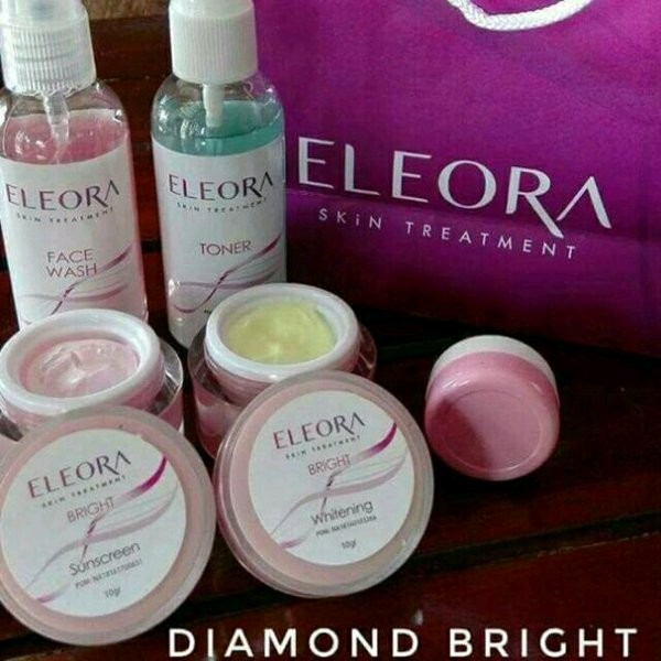 Harga Reseller Eleora Diamond Bright - Oily - Anti Aging Melasma