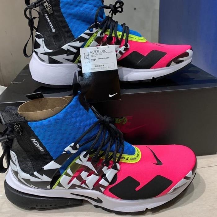 watch 6483f d3fe0 Jual Nike Air Presto Mid X Acronym 2018 MultiColor, Black 100% ORIGINAL -  DKI Jakarta - Sam Sneakers | Tokopedia