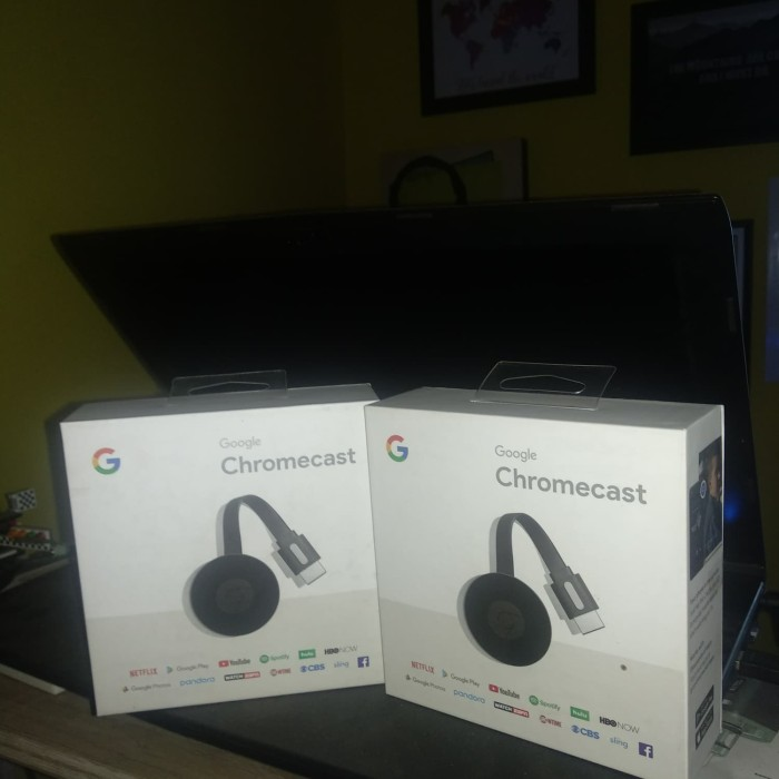 harga Google chromecast version 2 (new) 2015 termurah Tokopedia.com
