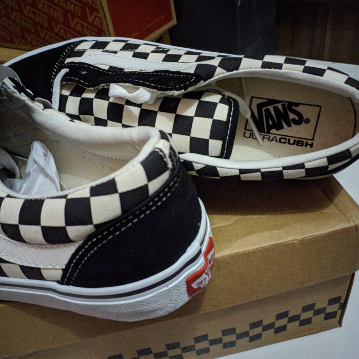 d7aec286c4 Jual Sepatu Vans V36CL+ Old Skool DX Checkerboard Japan Market (BNIB ...