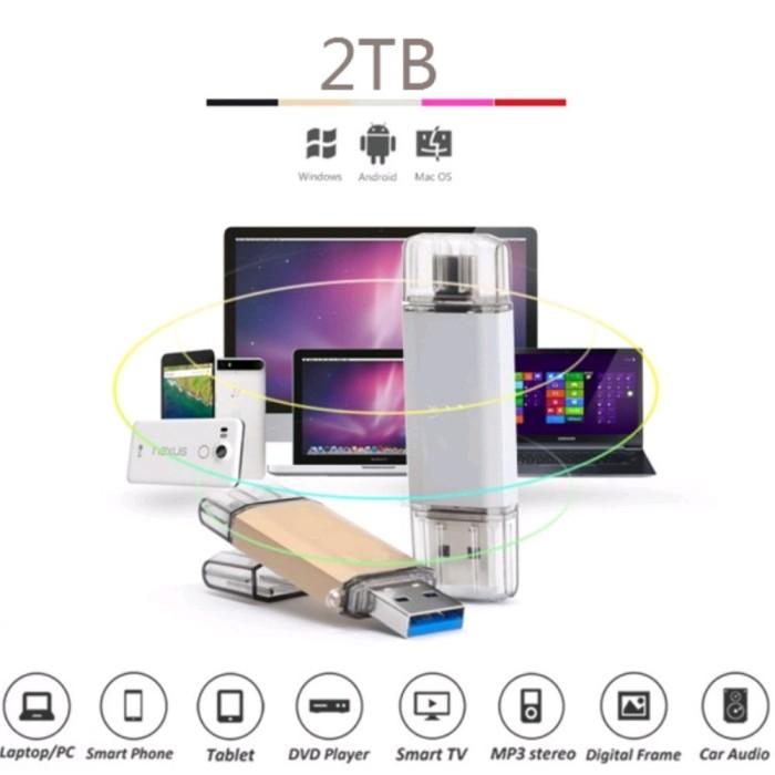 harga Fashdrive untuk android usb 3 2tb 3in1 otg flashdisk Tokopedia.com
