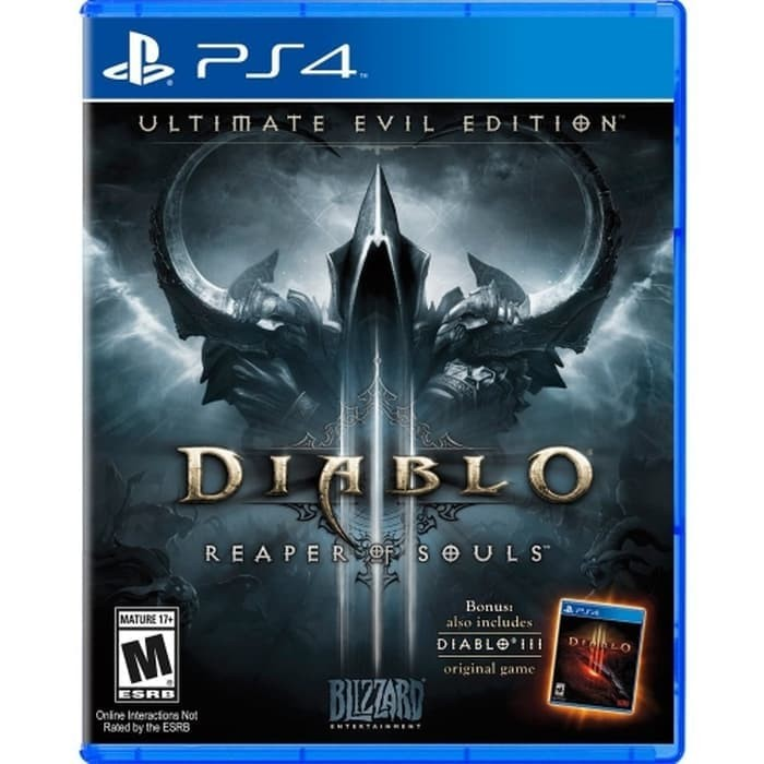 PS4 DIABLO III: ULTIMATE EVIL EDITION (Region 2/EUR/English)