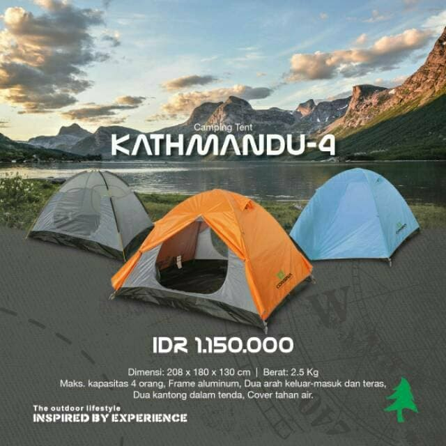 Katalog Tenda Dome Consina Travelbon.com