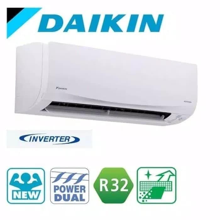 Jual Daikin Ac 1  2 Pk Flash Inverter Ftkq15sv Terima