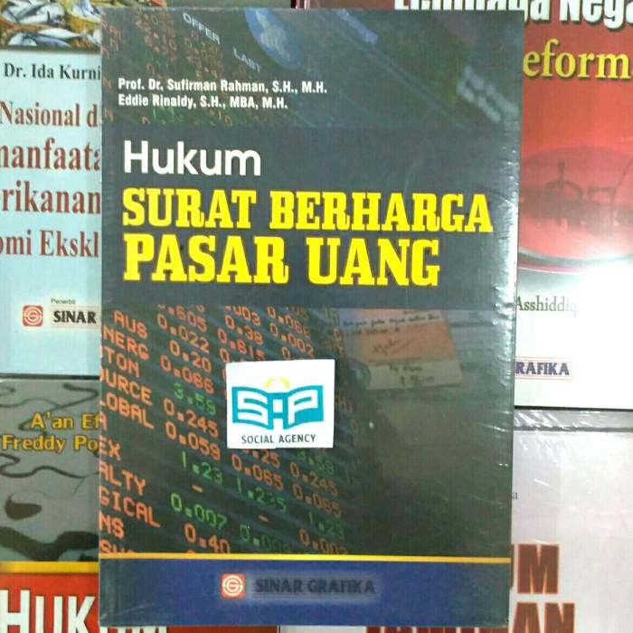 Jual Buku Hukum Surat Berharga Pasar Uangsinar Grafika Originalmurahab Kota Yogyakarta Social Agency Putera Tokopedia