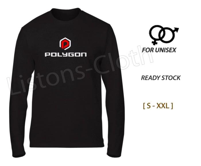 Foto Produk Kaos sepeda polygon baju bike gowes lengan panjang dari Listons-cloth