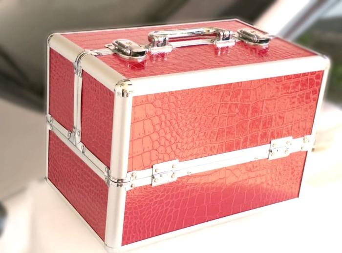 harga Box kosmetik / tempat make up / kotak kosmetik  / kotak make up Tokopedia.com