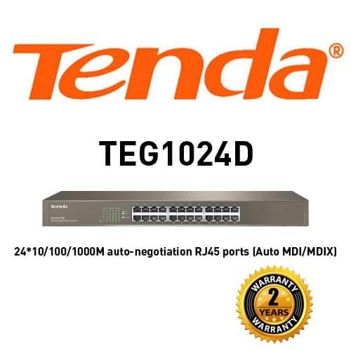 harga Tenda teg1024d switch 24 port gigabit Tokopedia.com