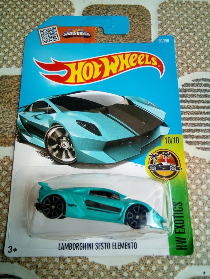 Jual Lamborghini Sesto Elemento Blue Broken Blister Royaleksander