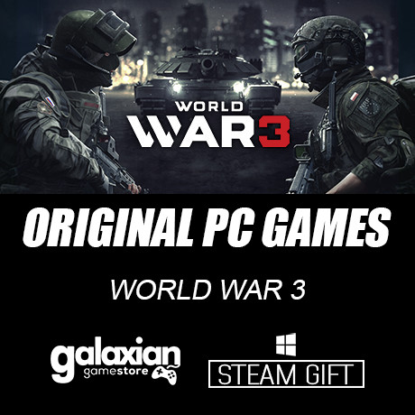 harga World war 3 - steam original pc games Tokopedia.com