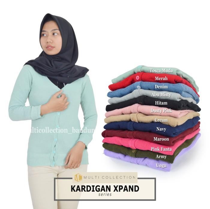 harga Kardigan xpand - baju wanita - baju rajut - fashion korea - kardigan Tokopedia.com