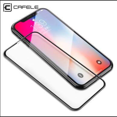 Foto Produk iPhone X/XS/XS Max/XR Cafele 9D Full Tempered Glass dari 4K