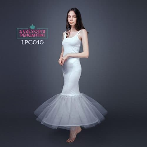 harga Petticoat wedding duyung (1ring) l rok dalaman gaun mermaid - lpc 010 Tokopedia.com