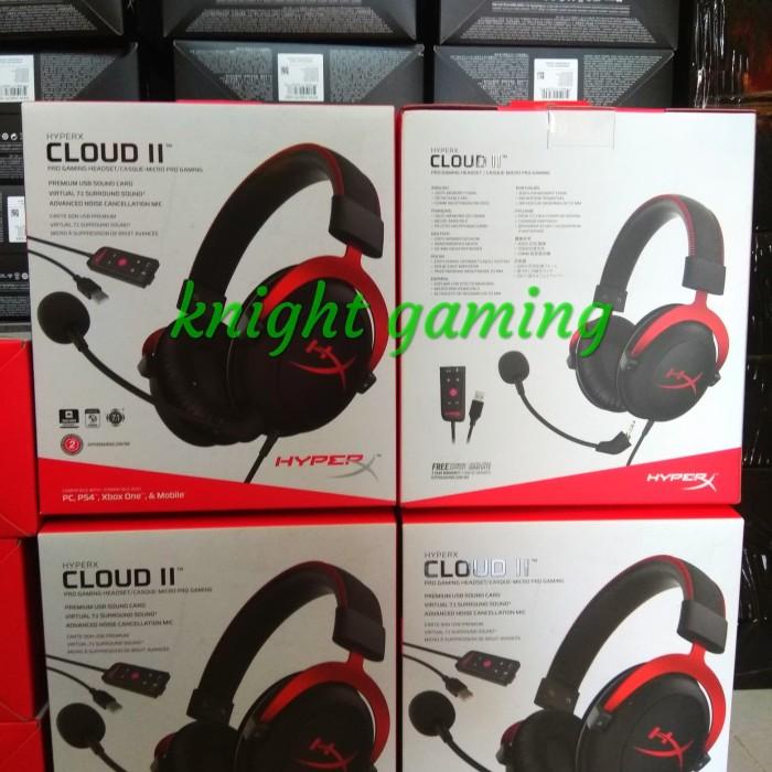 harga Headset gaming pro kingston hyperx cloud ii red. Tokopedia.com
