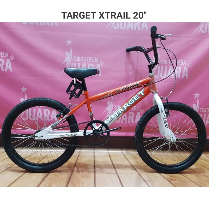 Jual SEPEDA BMX TARGET XTRAIL 20 INCI ORANGE FREESTYLE - Kab  Karanganyar -  Toko Sepeda JUARA   Tokopedia