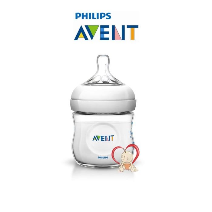 Botol Susu Philips Avent Natural - 125 Ml / 125ml / 125 - Ml - Putih - Single - Blanja.com