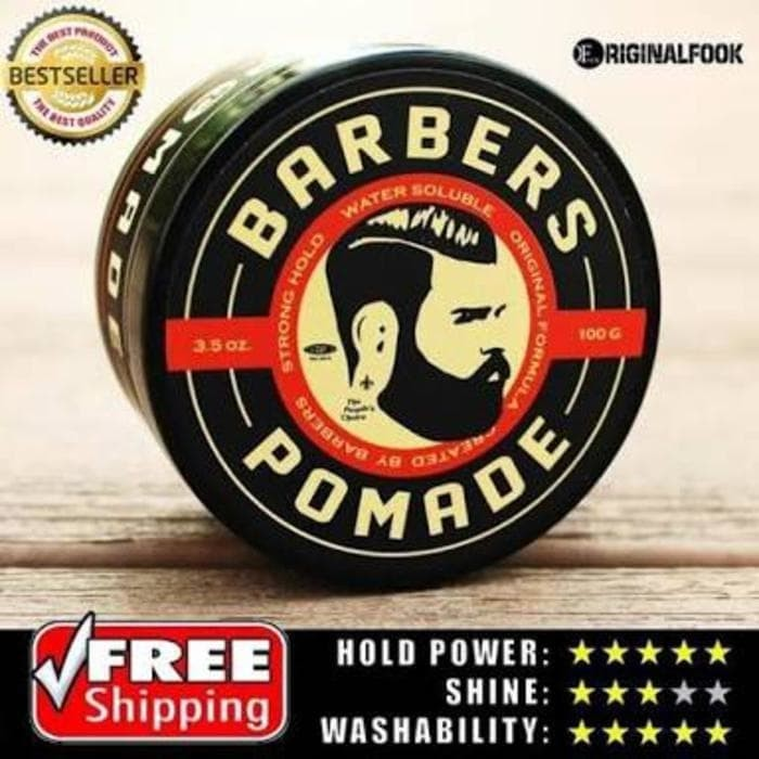 Barbers Pomade Strong Hold 100gr