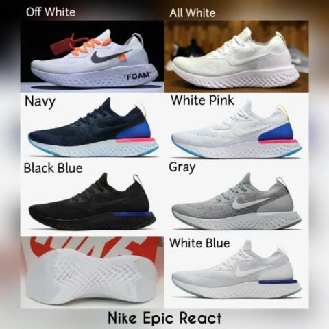 0e90fe58af82 Jual Sepatu Nike Epic React Flyknit Premium Original - Seven Sport ...