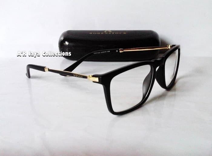 Harga Terbaru Frame Kacamata Optik Minus   Plus GUCCI Trendy ( NEW ... c7ec0b251d