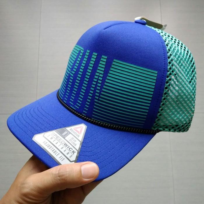 Topi Running Reebok (ORI) New   Topi Lari   Running Hat 13142b9609