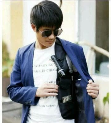 Murah Tas Gadget Pundak Bahu Army Polisi Fbi Agen 007 (Smartphone) -