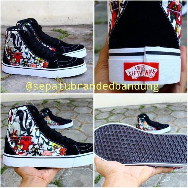Murah !!! Sepatu Vans Sk8 Motif Tazmania Devil Sepatu Casual Vans Pria. Toko  dalam status moderasi 0ea7496bae