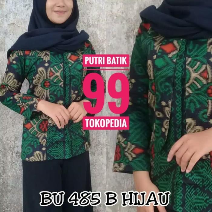 harga Batik blus atasan kerja fashion wanita blouse modern terlaris Tokopedia.com